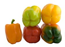 Free Colorful Sweet Peppers Stock Photos - 7920133