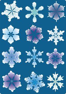 Free Snowflakes Stock Image - 7920191