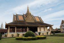 Cambodia S Royal Palace Royalty Free Stock Photo