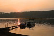 Free Sunset On Brant Lake In Adirondack Royalty Free Stock Photo - 7920475