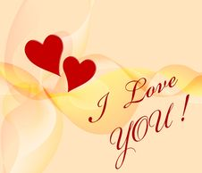 Free Card To Valentines Day. Royalty Free Stock Photo - 7920535