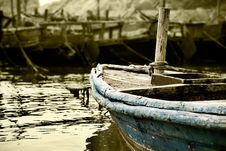 Free Wooden Boat Stock Photos - 7921803