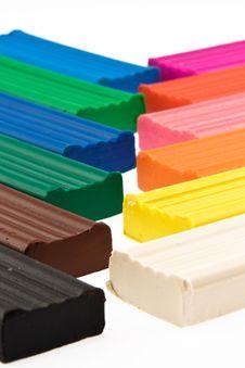 Free Plasticine. Stock Image - 7922011