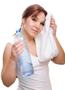 Free Thirsty Woman Royalty Free Stock Photography - 7922657