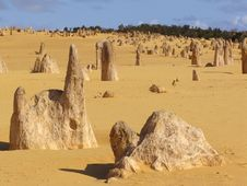 Free Pinnacles Desert Stock Photography - 7922702
