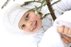 Free Girl On Winter Vacation Stock Images - 7923304