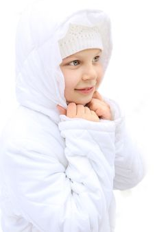 Free Girl On Winter Vacation Stock Photo - 7923320
