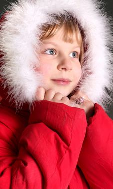 Free Girl On Winter Vacation Stock Photography - 7923502