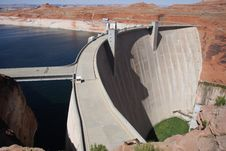 Free Glen Canyon Dam Royalty Free Stock Photos - 7923948