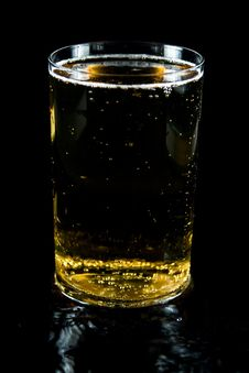 Free A Glass Of Cold Beer Royalty Free Stock Image - 7924386