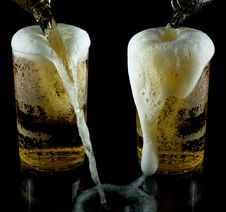 Free A Glass Of Cold Beer Stock Photography - 7924452