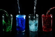 Free Glass With Drink Royalty Free Stock Photography - 7924547