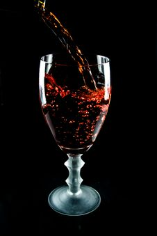 Free Glass Of Wine Stock Image - 7924591
