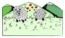 Free Spring Sheeps Royalty Free Stock Image - 7924686