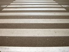 Pedestrian Crossing. Stock Photo