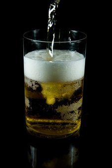 Free A Glass Of Cold Beer Stock Photography - 7925042