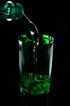 Free Glass With Drink Royalty Free Stock Images - 7925099