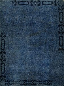 Free Old Dark Blue Leather Stock Photos - 7925803