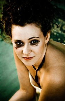 Free Messy Makeup Stock Photo - 7926390