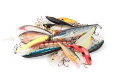 Free Fishing Lures Royalty Free Stock Photography - 7926817
