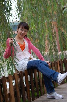 Free A Smile Girl Royalty Free Stock Photography - 7927447