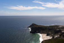 Cape Of Good Hope, Cape Town Royalty Free Stock Photos