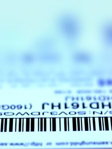 Free Bar Code Label Royalty Free Stock Photo - 7927805