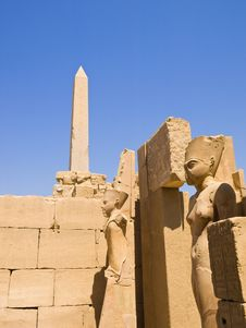 Free Karnak Temple Royalty Free Stock Image - 7927846