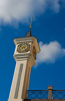 Free Clock Tower Royalty Free Stock Photography - 7928087