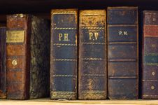 Free Old Books Stock Photography - 7928172
