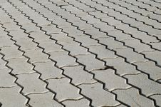 Cobbled Tile Royalty Free Stock Images