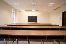 Free Empty Classroom Stock Photo - 7928360