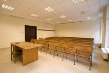 Free Empty Classroom Royalty Free Stock Photography - 7928897