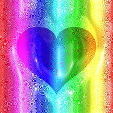 Free Retro Heart Royalty Free Stock Photography - 7929037