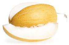 Free Melon Isolated On White Royalty Free Stock Photo - 7929065
