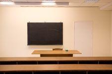 Free Empty Classroom Royalty Free Stock Photography - 7929077
