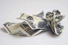 Free Torn Money Stock Image - 7929111
