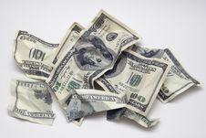 Free Torn Money Royalty Free Stock Image - 7929116