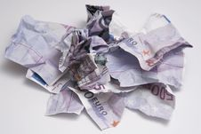 Free Torn Money Stock Photography - 7929132