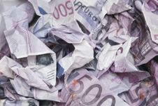Free Torn Money Royalty Free Stock Image - 7929136