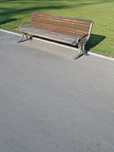 Free Bench In Park Royalty Free Stock Photos - 7929258