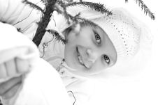 Free Girl On Winter Vacation Royalty Free Stock Image - 7929306