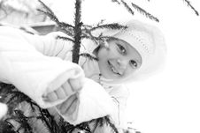 Free Girl On Winter Vacation Stock Image - 7929461