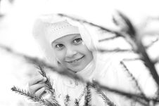 Free Girl On Winter Vacation Royalty Free Stock Photos - 7929518