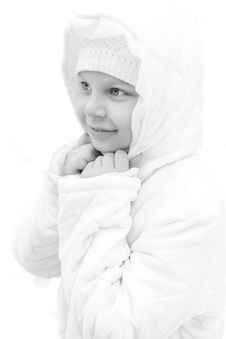 Free Girl On Winter Vacation Royalty Free Stock Photos - 7929708