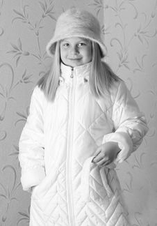 Free Girl On Winter Vacation Stock Images - 7929904