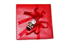 Free Red Gift On White Royalty Free Stock Photography - 7929917