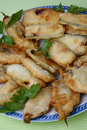Free Breaded Deep Fried Zucchini And Anchovies Close Up Royalty Free Stock Photography - 7935847