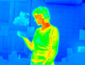 Free Thermograph-girl Reading Royalty Free Stock Photo - 7936695