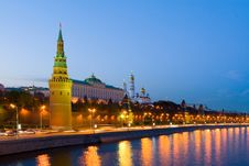 Free Night City, Moscow Stock Image - 7930071